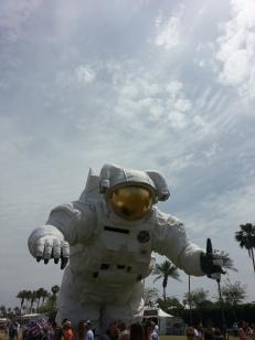 Astronaut on Wheels
