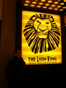 Lion King Poster and me