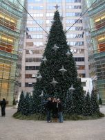 Random Christmas tree we found while wandering around the city