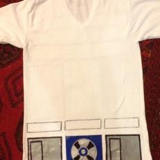 R2D2 shirt-back
