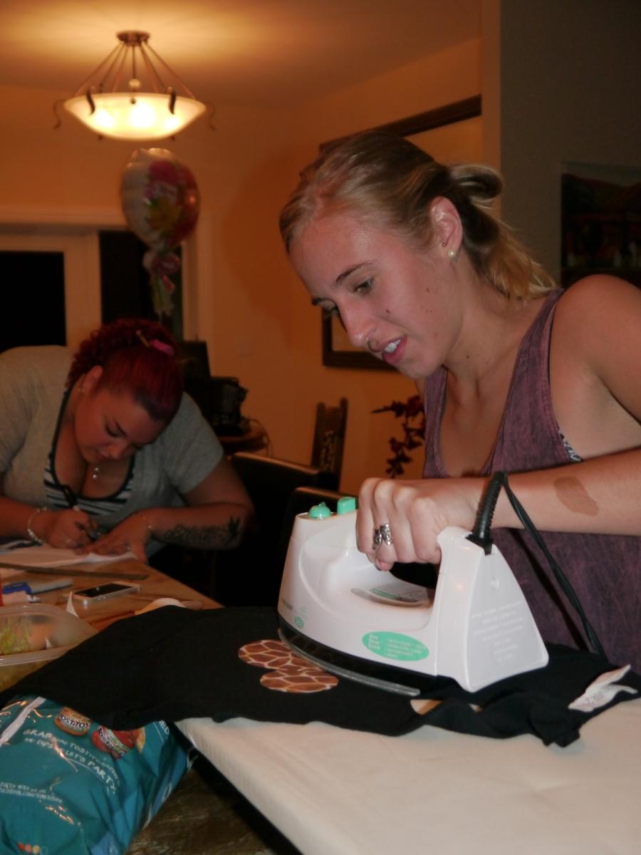 Sofie the Ironing Machine
