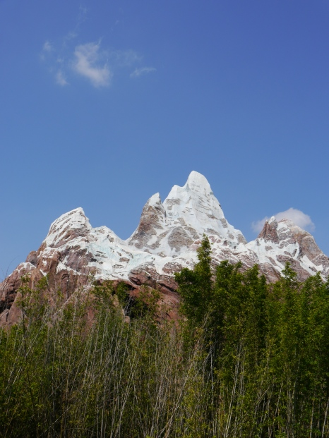 It's incredible how real they make Mount Everest look